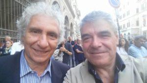 Il Direttore del TG3 Mineo e Claudio Pelagallo